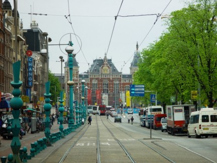 Downtown Amsterdam - Railway Station