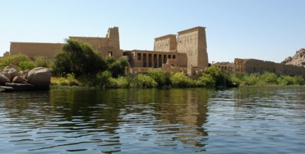 Impressive temple complex, raised from the waters backing up from the Aswan Dam