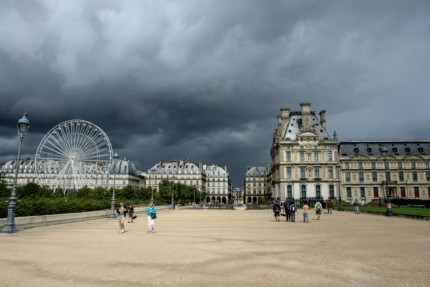 Storm Over Paris