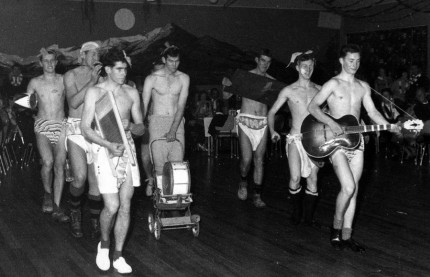 The Karitane Kilties strut their stuff