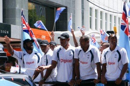 Fijian Team Members