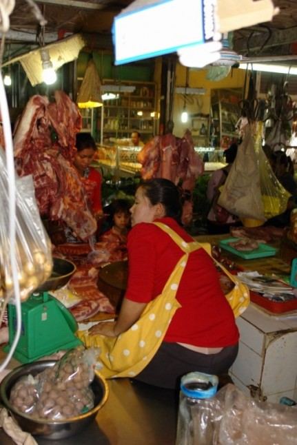 Fresh Meat - Cambodian Market