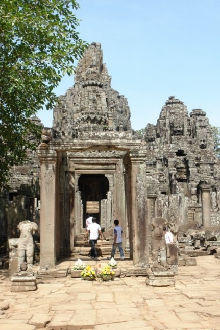 First look at Bayon Temple - Cambodia