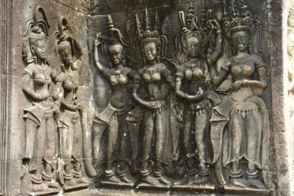 Detail from Angkor Wat - the mother of all temples - Cambodia