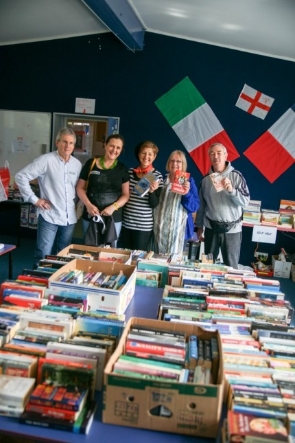 The book stall crew